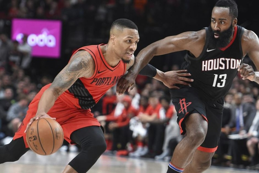 NBA: Harden imparable en triunfo de los Rockets