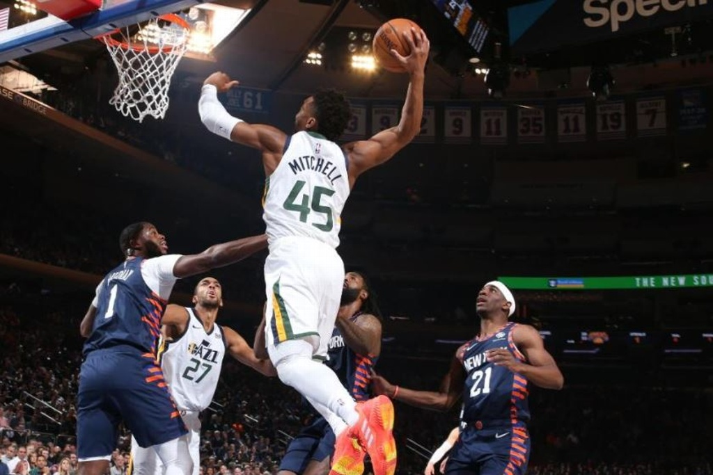 NBA: Jazz da paliza a los Knicks