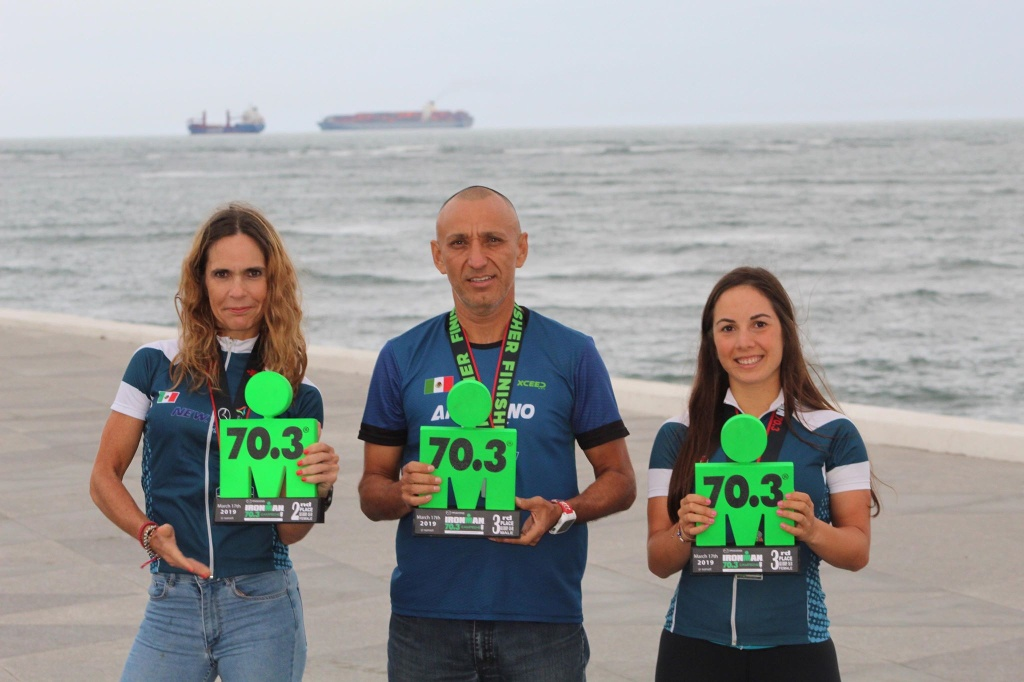 Califican atletas de New Team Triatlón al mundial de Ironman 70.3