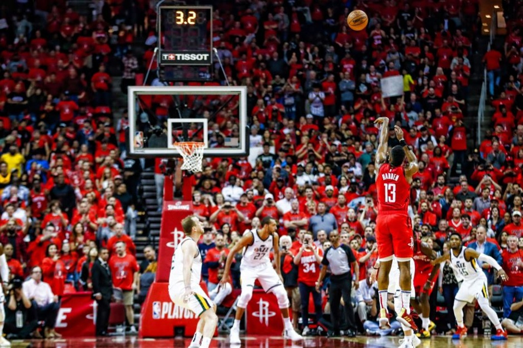 NBA Playoffs: Rockets pasan por encima del Jazz