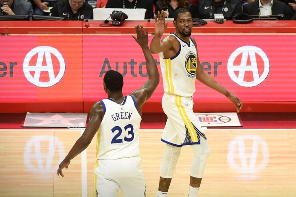 NBA Playoffs: Warriors tunden a los Clippers