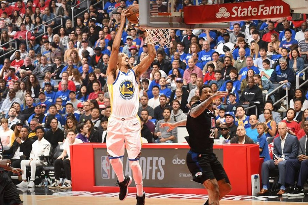 NBA Playoffs: Warriors vuelven a pegarle a los Clippers
