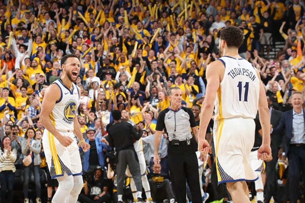 NBA Playoffs: Warriors ganan quinto juego a los Rockets