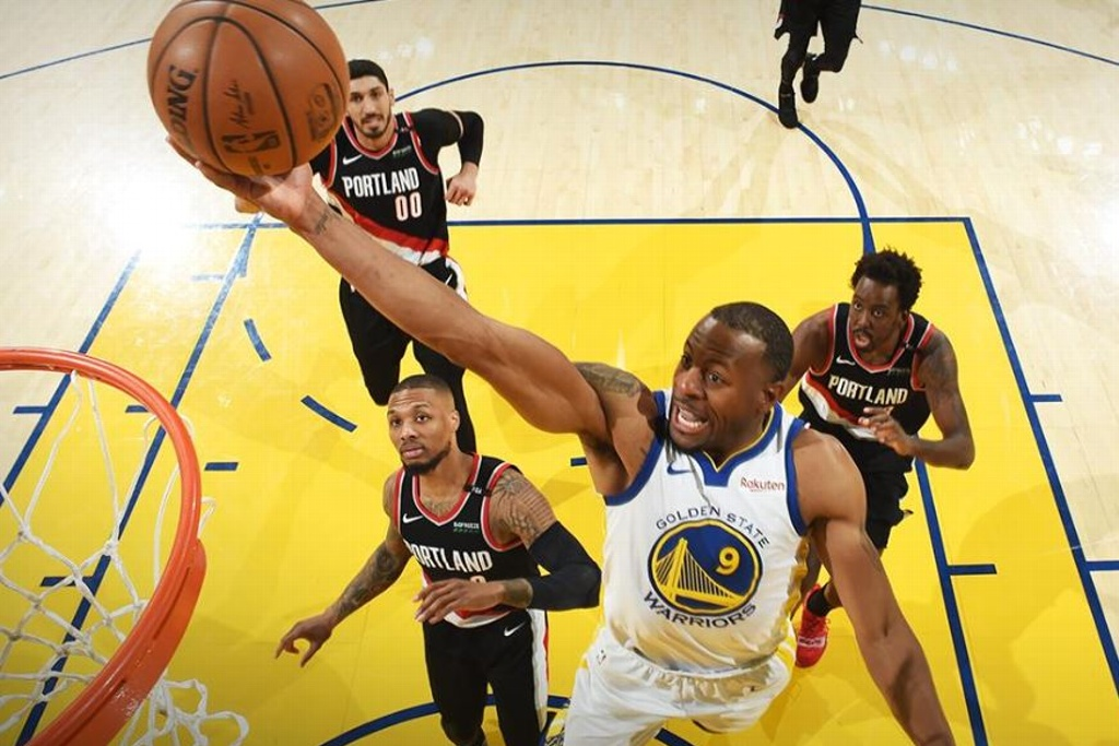 NBA Playoffs: ¡Warriors gana el primero de la Final del Oeste!