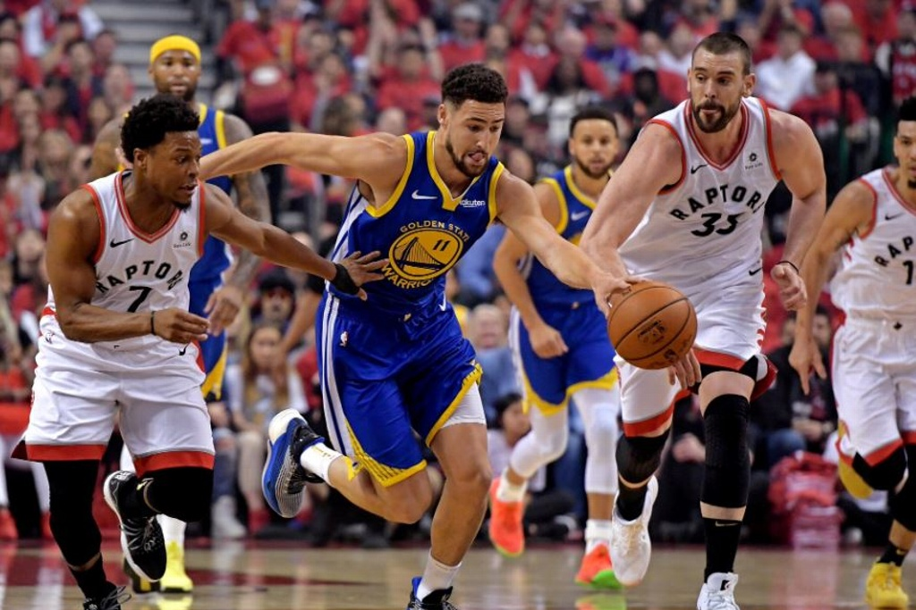 Warriors con más bajas en la Final de la NBA